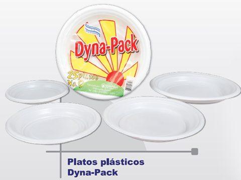 Platos Plásticos Dyna-Pack