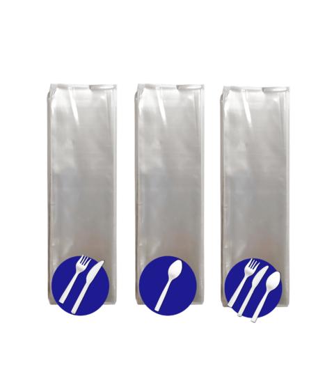 Set De Cubiertos Plásticos